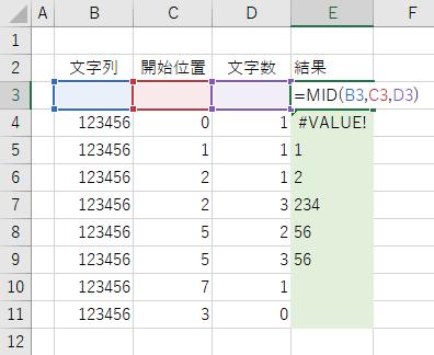 抽出 エクセル 文字 列